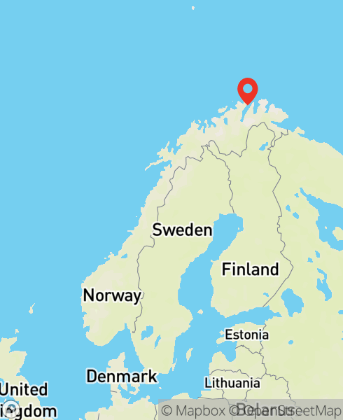 Mapbox Map of 25.90368,70.37173)