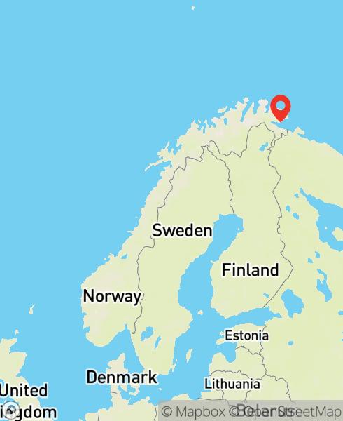 Mapbox Map of 29.987778,69.667222)