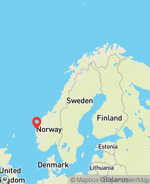 Mapbox Map of 5.34722,61.13696)