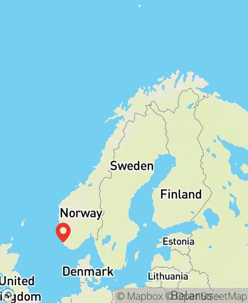 Mapbox Map of 5.75407,58.53863)