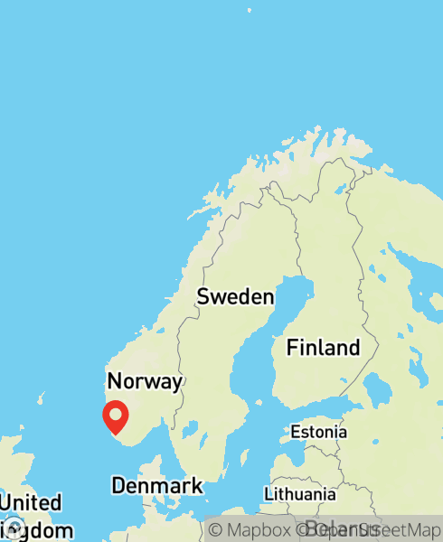 Mapbox Map of 5.99503,58.43755)