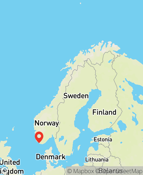 Mapbox Map of 6.56733,58.10897)