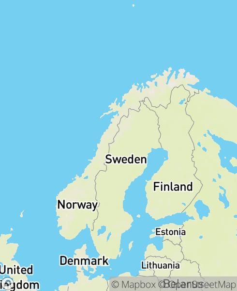 Mapbox Map of 60.5335,8.20567)