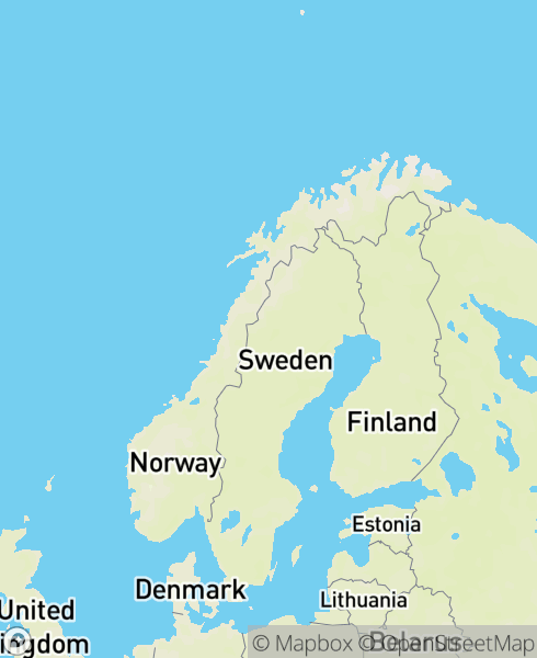 Mapbox Map of 60.65087,8.61208)