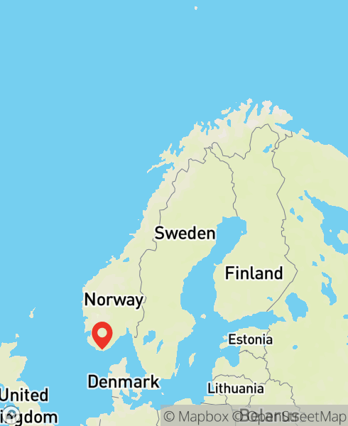 Mapbox Map of 7.45544,58.02497)