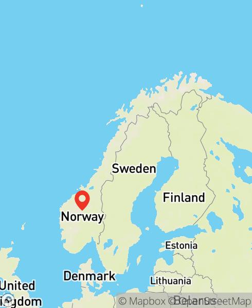 Mapbox Map of 8.85295,61.51451)