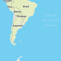 D Scanners Map - Argentina 3d map