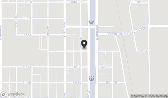 702 Avenue C Map View