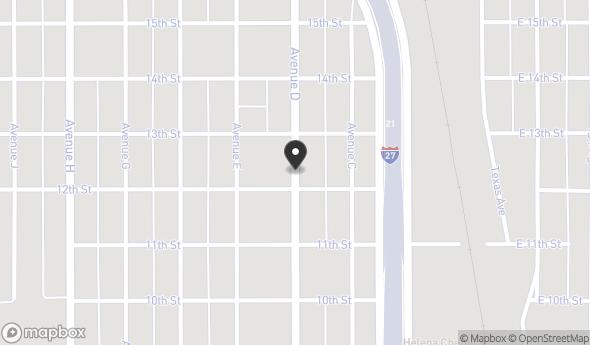 1203 Avenue D Map View