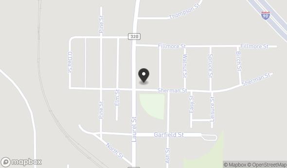Location of 1342 Laurel Street, Whitewood, SD 57793