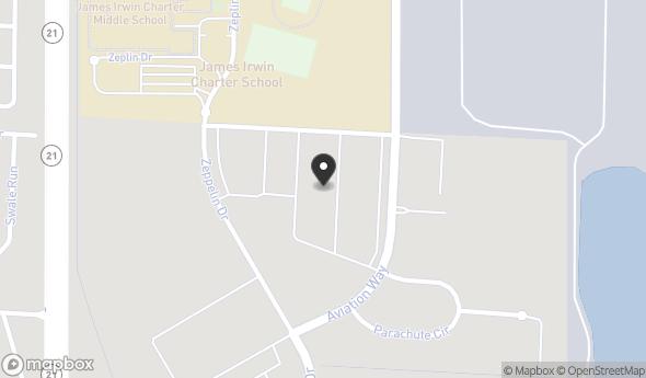 Location of Airport Business Center - Building B: 2510 Aviation Way, Colorado Springs, CO 80916