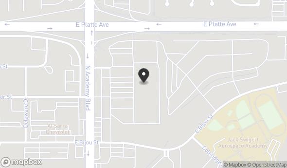 335 N Academy Blvd Map View