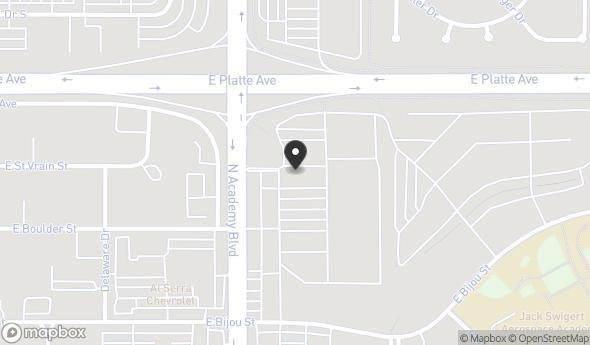Location of EYEGLASS WORLD: 353 N Academy Blvd, Colorado Springs, CO 80909