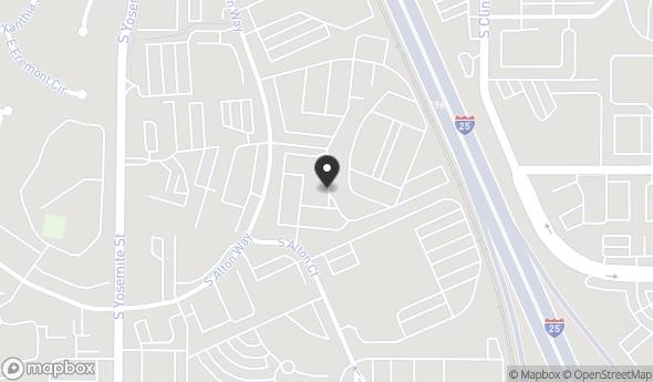 Location of 7200 S Alton Way, Centennial, CO 80112