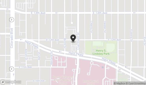 Location of Rose at Hale Parkway: 4495 Hale Pkwy, Denver, CO 80220