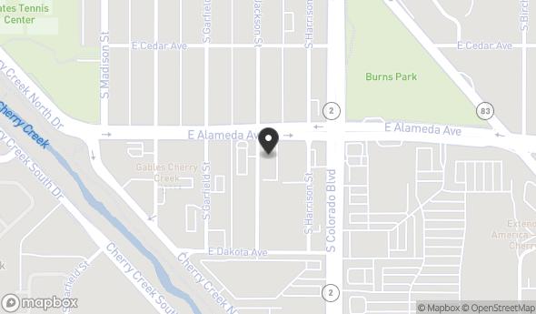 Location of Jackson Place: 300 S Jackson St, Denver, CO 80209