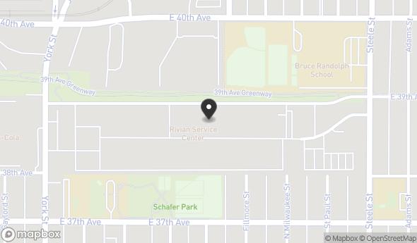 Location of Cluster Studios: 3881 Steele Street, Denver, CO 80205