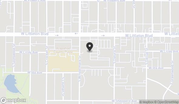 Location of Woodlawn Center: 1500 W Littleton Blvd, Littleton, CO 80120