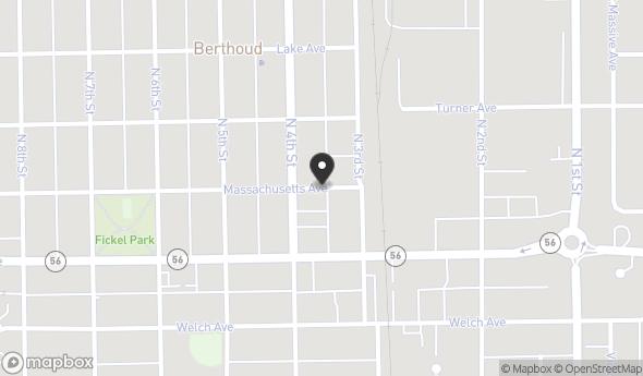 Location of 328 Massachusetts Avenue, Berthoud, CO 80513