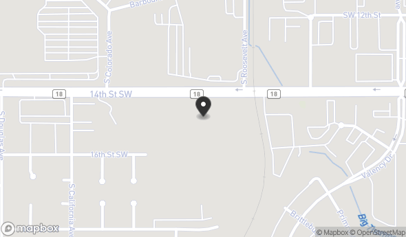 Location of 14th Street Southwest, Loveland, CO 80537