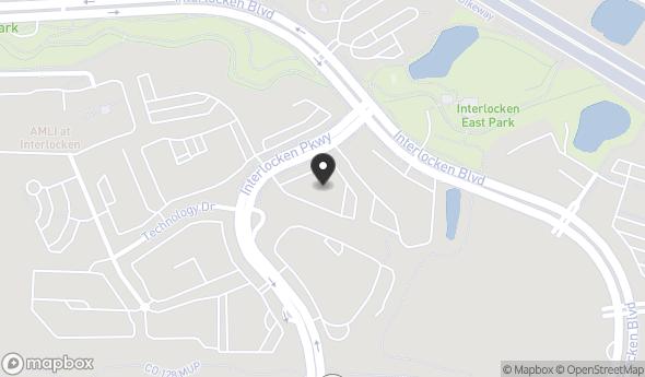 Location of 320 Interlocken Pkwy, Broomfield, CO 80021