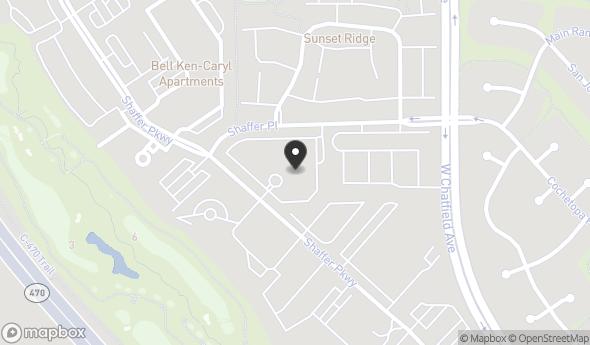 Location of Opus Plaza at Ken Caryl: 7810 Shaffer Pkwy, Littleton, CO 80127