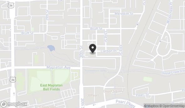 Location of Steel Yards, Unit 202: 3020 Carbon Pl, Boulder, CO 80301