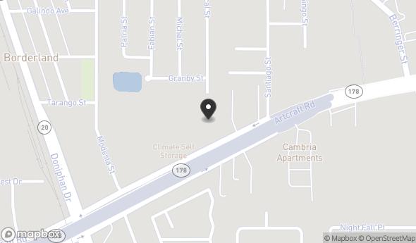 Location of 8055 Artcraft Rd, El Paso, TX 79932