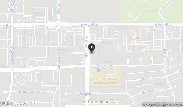 Location of 155 El Camino Real, Sierra Vista, AZ 85635