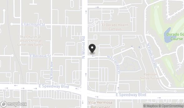 Location of El Dorado Square: 1200 N El Dorado Pl, Tucson, AZ 85715