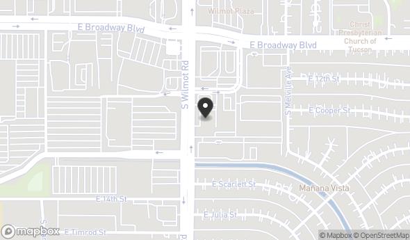 Location of 245 S Wilmot Rd, Tucson, AZ 85711