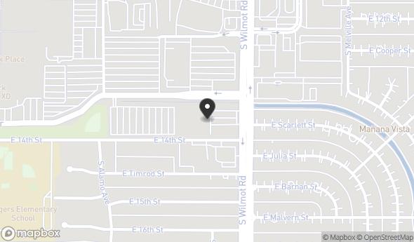 Location of 320 S Wilmot Rd, Tucson, AZ 85711