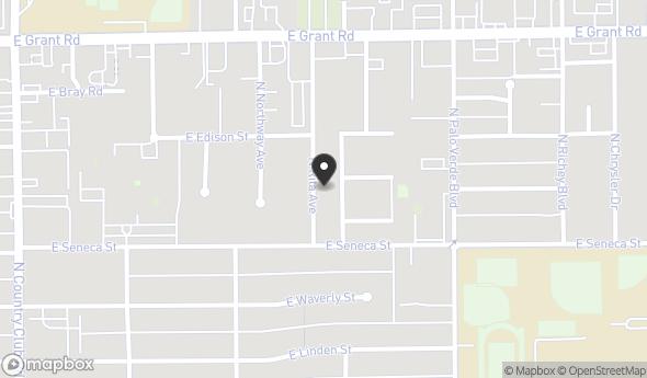 Location of Broadway Village: SWC Broadway Blvd & Country Club Road, Tucson, AZ 85716