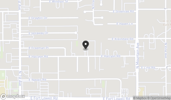 1011 E Halcyon Rd Map View
