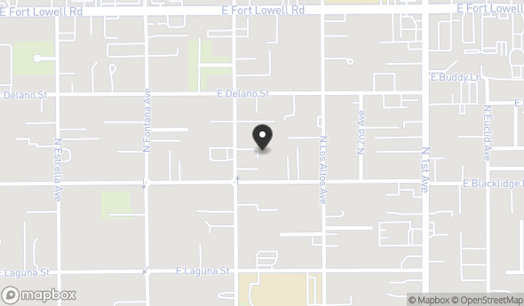3022 N Geronimo Ave Map View