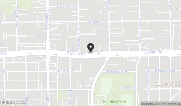 250 E Grant Rd Map View