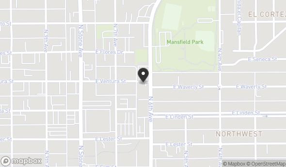 Location of 2025 N 6th Ave, Tucson, AZ 85705