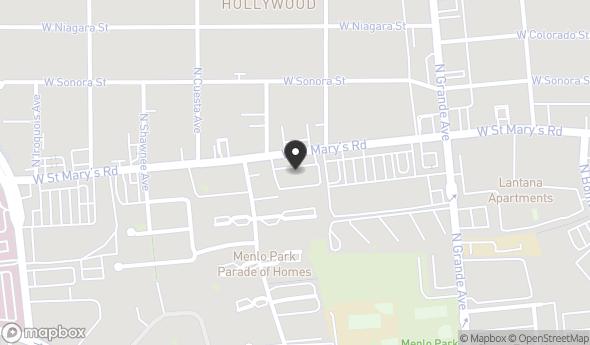 Location of St. Mary's Village Center: 1325 W Saint Marys Rd, Tucson, AZ 85745