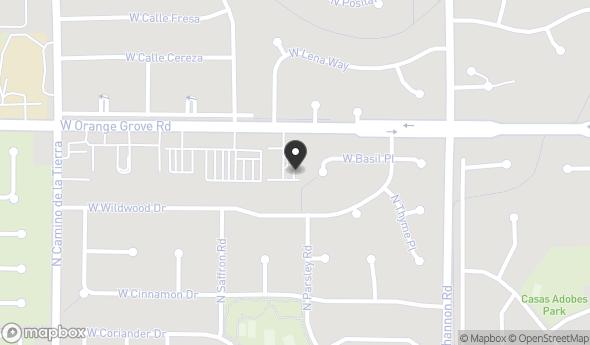 Location of 3081 W Orange Grove Rd, Tucson, AZ 85741