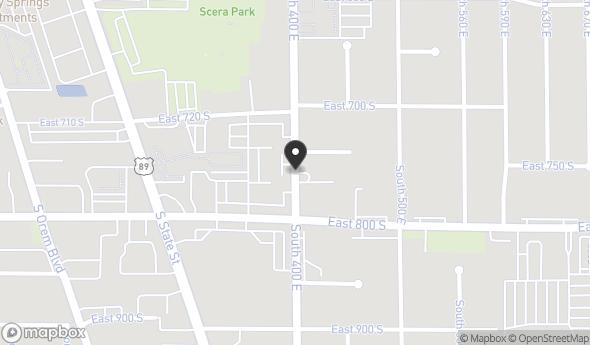 768 S 400 E Map View