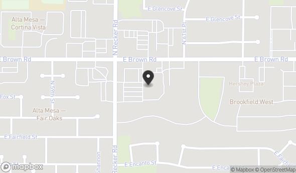 1135 N Recker Rd Map View