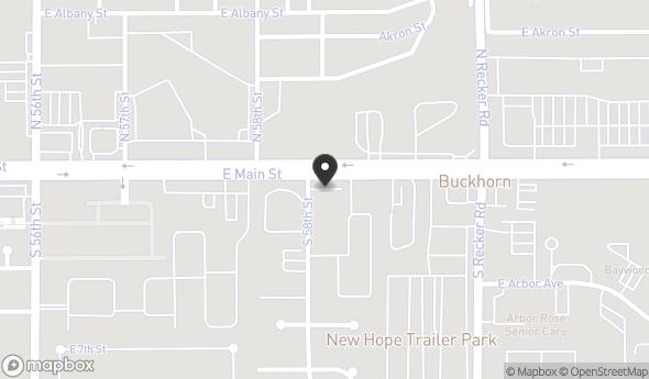 Location of 5801 E Main St, Mesa, AZ 85205