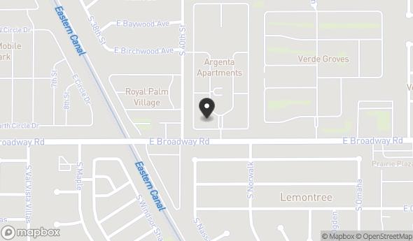 Location of Sold - 396-Unit Apartment Community in Mesa: 4104 E Broadway Rd, Mesa, AZ 85206