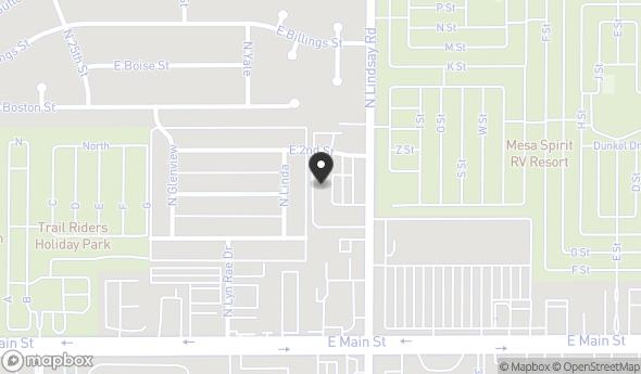 116 N Lindsay Rd Map View