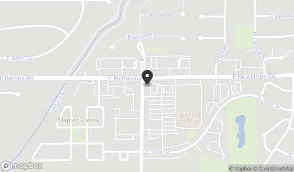 Location of SEC Stapley Drive & McKellips Road: SEC Stapley Drive & McKellips Road, Mesa, AZ 85203