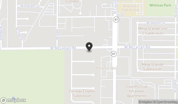 Location of McLellan Country Club: 465 W McLellan Rd , Mesa, AZ 85201