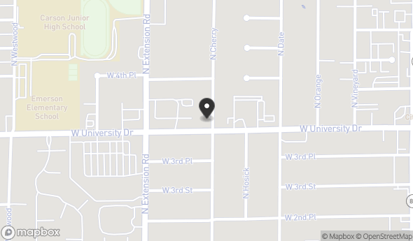 Location of Retail/Office Building on University Dr: 702 W University Dr, Mesa, AZ 85201