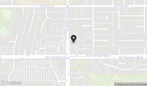 Location of 924 W Chandler Blvd, Chandler, AZ 85225
