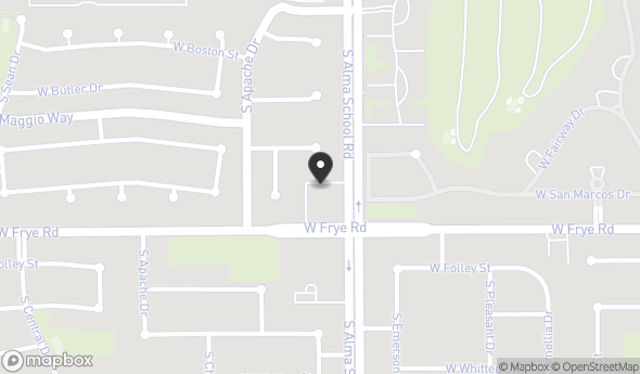 Location of Pollack Professional Plaza: 290 S Alma School Rd, Chandler, AZ 85224