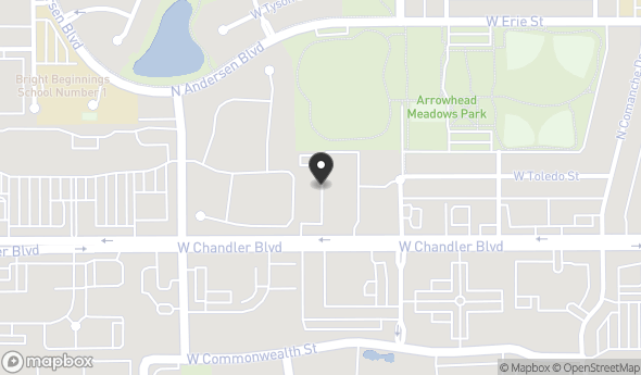 Location of Chandler Place: 1600 W Chandler Blvd, Chandler, AZ 85224